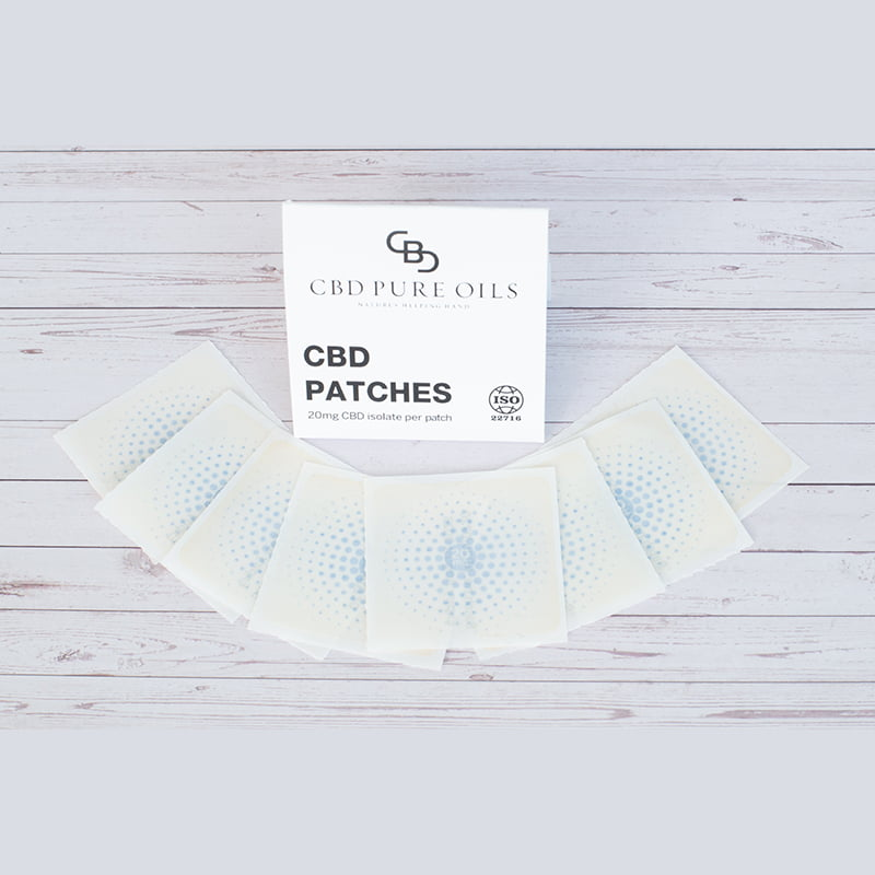 CBD Slow Release Patches 20mg