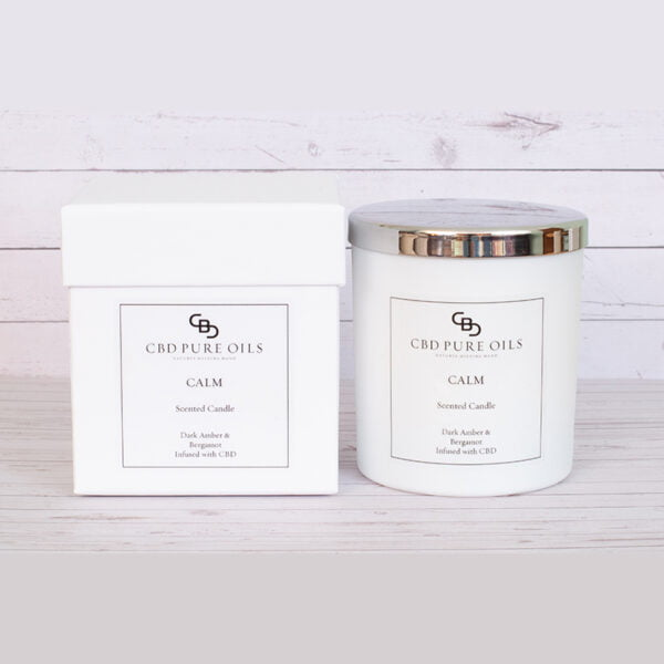 CALM CBD Infused Scented Candle